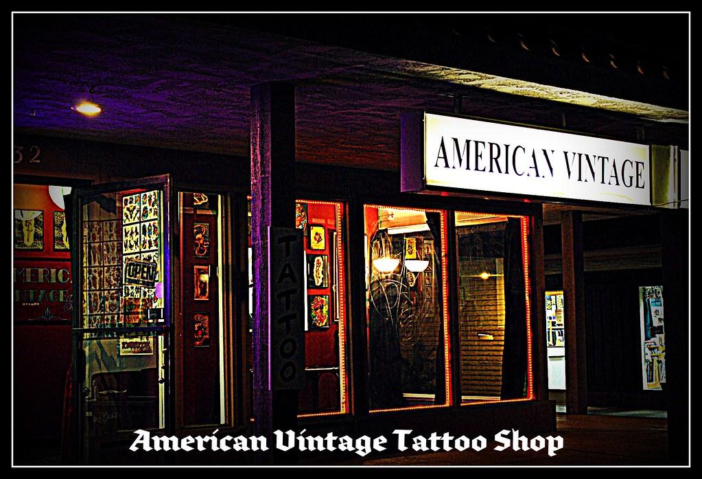 Vintage Tattoo Shop 85