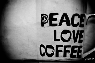Peace, Love Coffee | by Sarah Al-Sayegh Photography | www.salsayegh.com