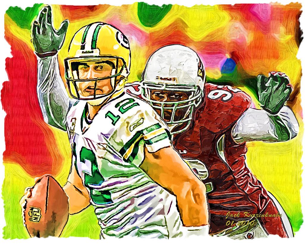 0 Green Bay Packers Aaron Rodgers & Arizona Cardinals Bert ...