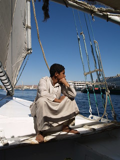 Boy on a falucca at Aswan Egypt [shared] | by Simon Bolton UK