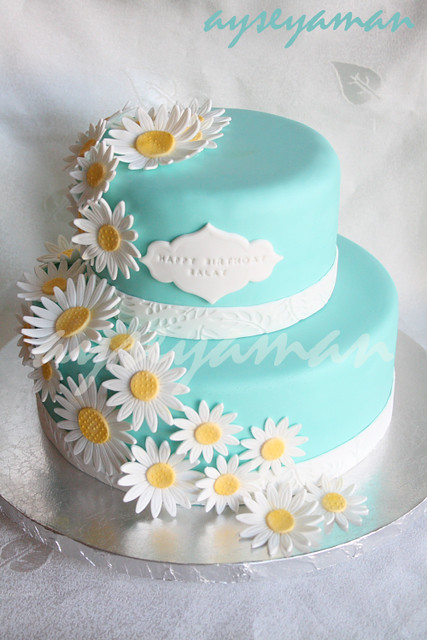 Tiffanys Blue Birthday Cake