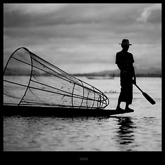 'Inle lake silhouette' | by cisco image 