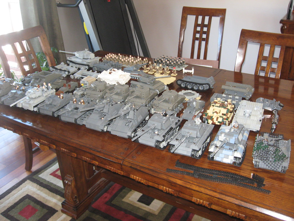 Aaron's Lego Military Vehicle Collection Feb 2010 | Was ...