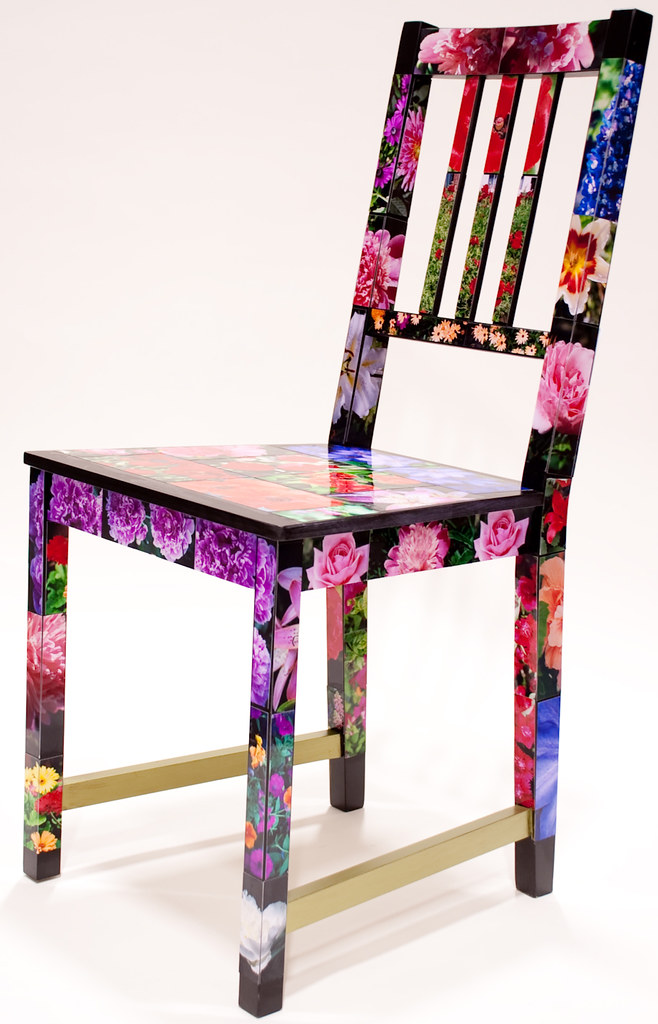 Blooms artist sarah g ikea ottawa spring flowers in blo flickr for Chaise hamac ikea