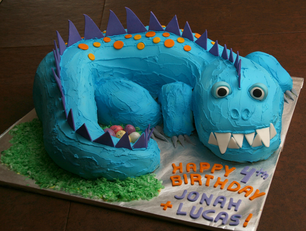 This Cake Was Made For Twins Jonah