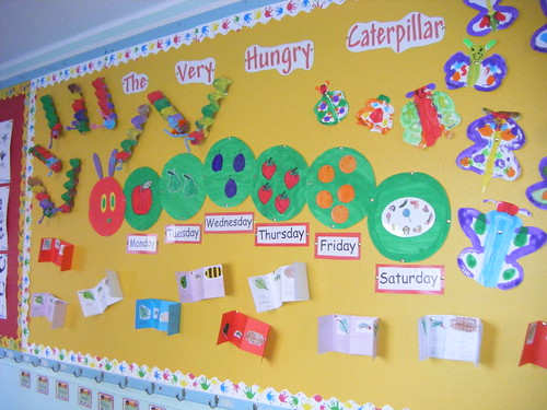 The Very Hungry Caterpillar Room Decor