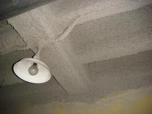 Non Asbestos Spray Applied Fireproofing Grey Beige Spray