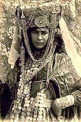 Algeria c 1920s Postcard - Bedecked Ouled-Naïl Woman | by ronramstew