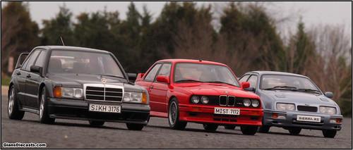 M3 Sport Evo vs 190E 2.5-16 Evo II vs Sierra RS Cosworth ...