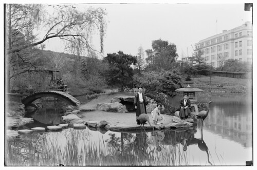 Japanese Hill-and-Pond Garden 1925 | by Brooklyn Botanic Garden