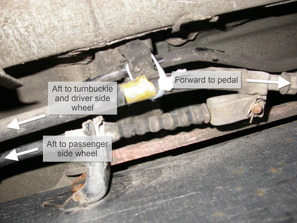 parking brake cable junction labeled jd and beastlet. Black Bedroom Furniture Sets. Home Design Ideas