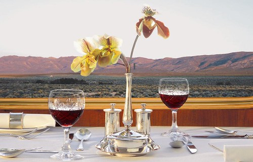 Blue Train (South Africa) - Dining table | by Train Chartering & Private Rail Cars
