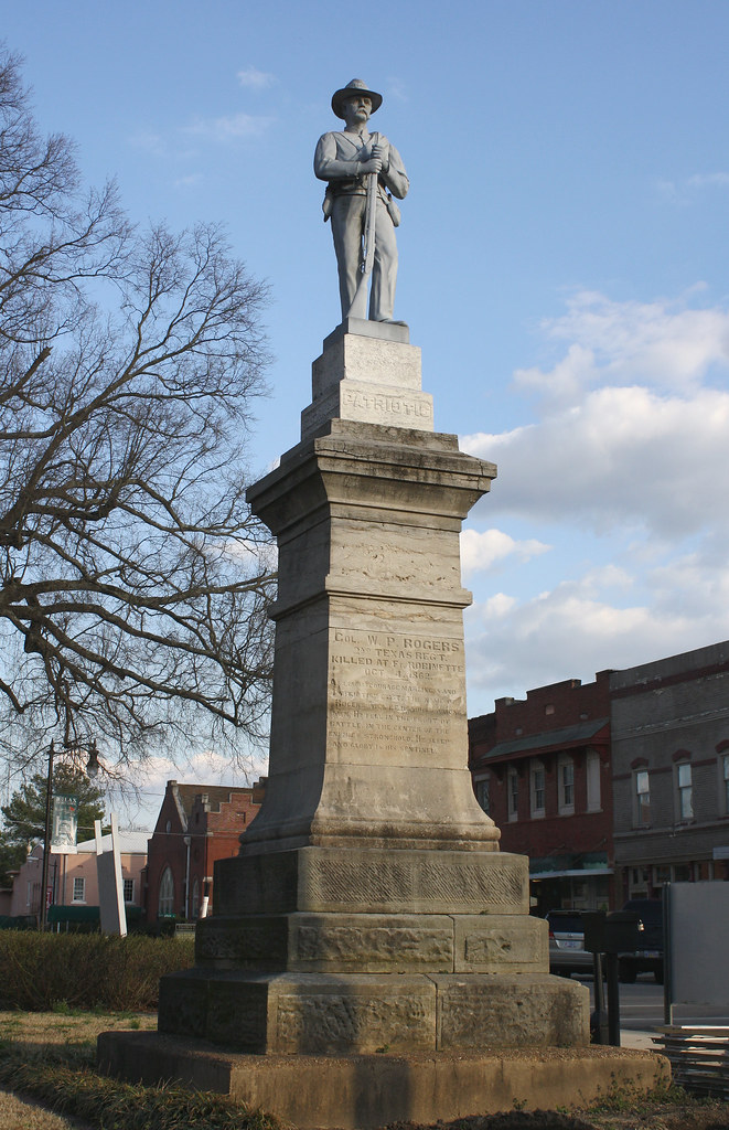 Col William P Rogers Monument Corinth Mississippi The