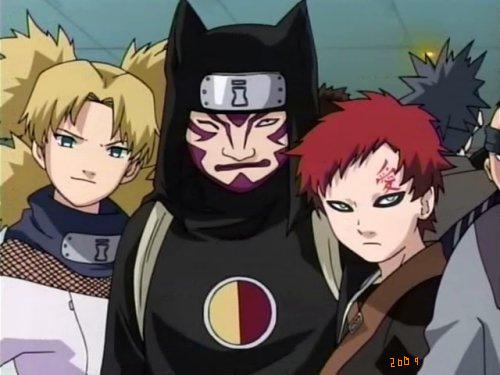 Gaara and kankuro temari siblings
