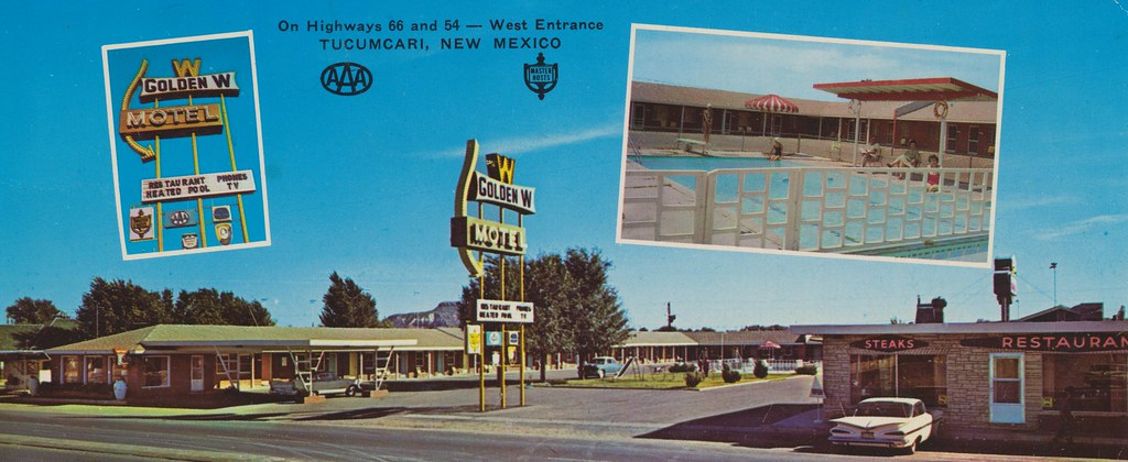 Golden W Motel - Tucumcari, New Mexico
