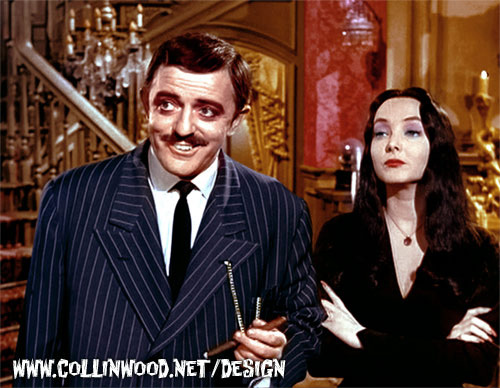 The Addams Family in Color | Another colorized image from ...