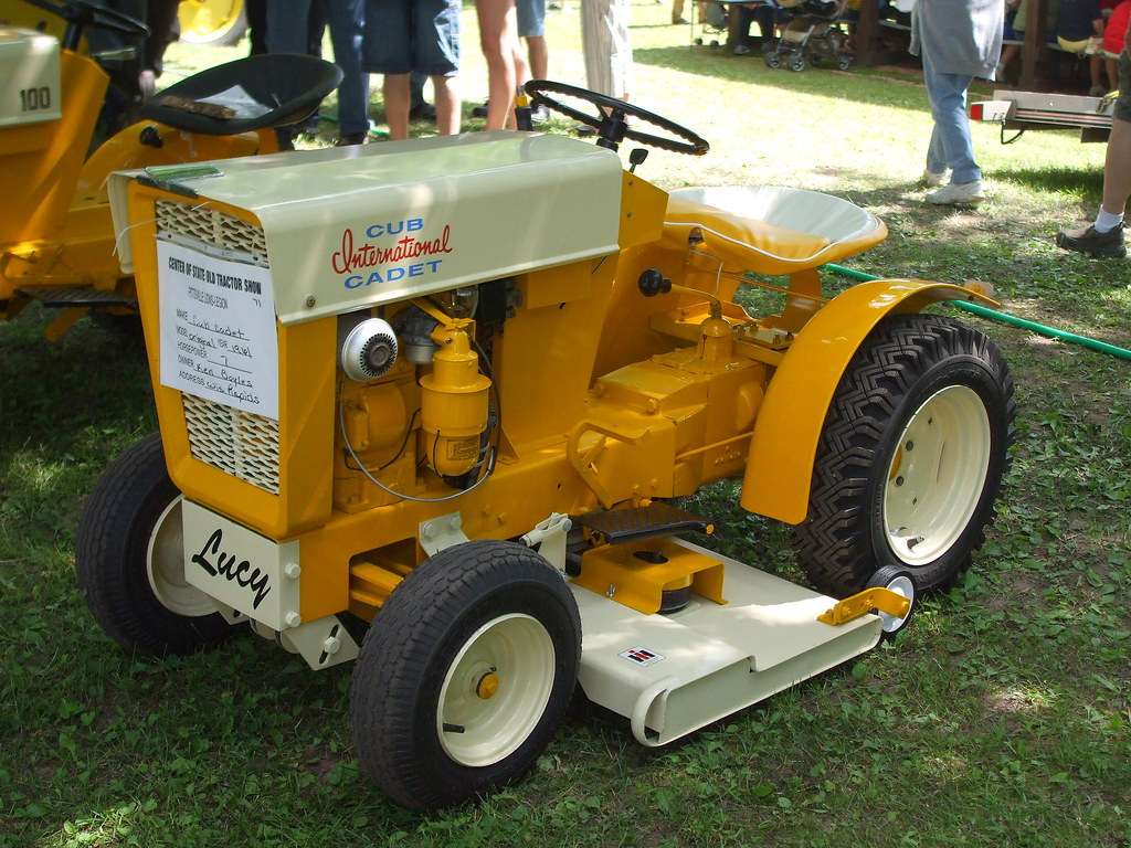 1961 Cub Cadet Original Mark Flickr