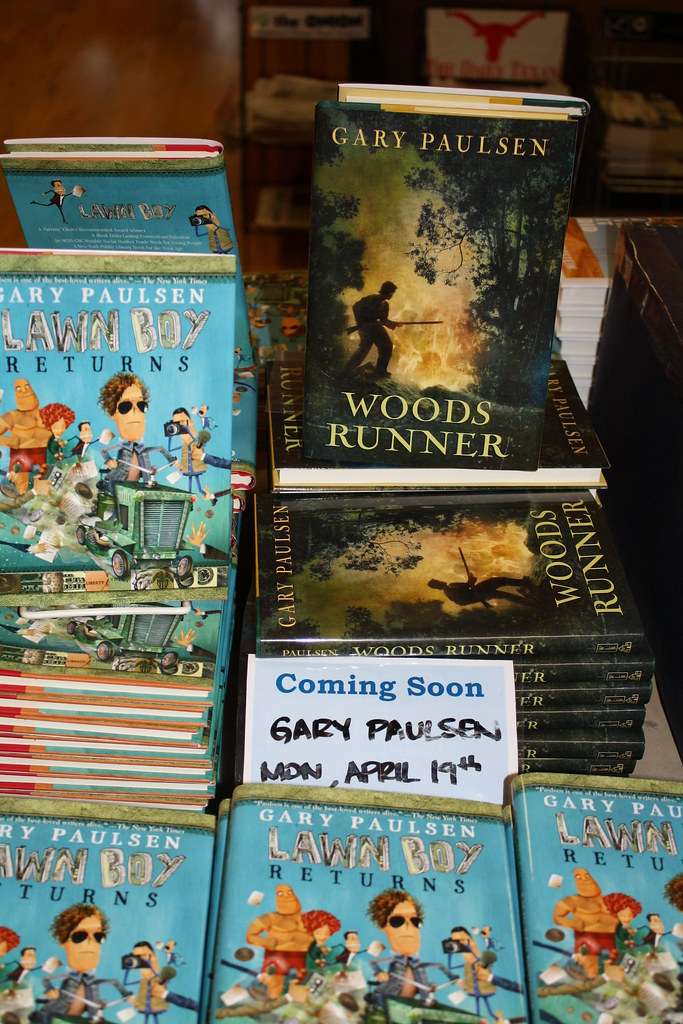 lawn boy returns book report Where woods runner is a gripping, and grueling look at the hardships of war, lawn boy returns romps with 12-year old humor through a madcap maze of corporate finance.