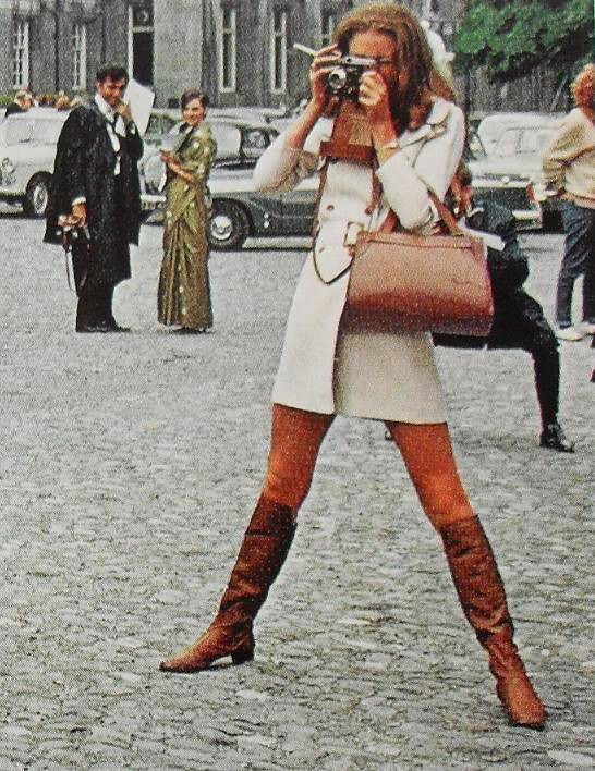 1960s Mod Woman Fashion Photo Smoking Go Go Boots Vintage Flickr