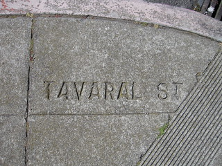 """Tavaral"" (Taraval) Street and 14th Avenue 