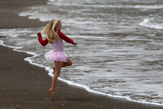 From 32 Cute Little Girl in Pink Dances photos set (uncropped). | by mikebaird