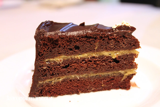 Awfully Chocolate Banana Cake