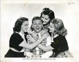 Mickey Rooney with 3 of his 37 wives | by ellenmc