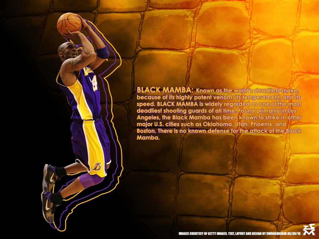 kobe bryant the black mamba