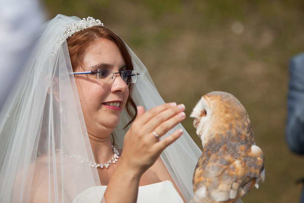 Owl Bride And Groom Cake Topper