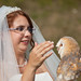 Bride with owl
