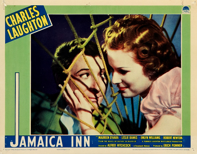 Jamaica Inn (1939) - lobby card