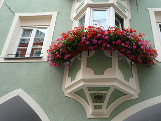 Bay window or bow window - Bovindo - Erker | by SissiPrincess