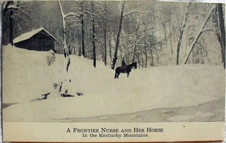 A Frontier Nurse and Her Horse In the  Mountains of  Kentucky | by @nursingpins