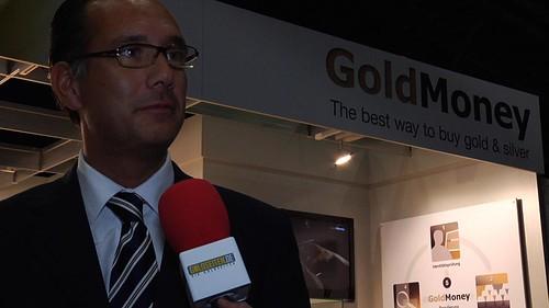 ... von Richthofen interviewed during the Edelmetallmesse by Goldseiten.de