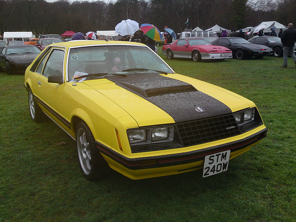 1980 ford mustang mkiii 3 3 coupe by bramm77