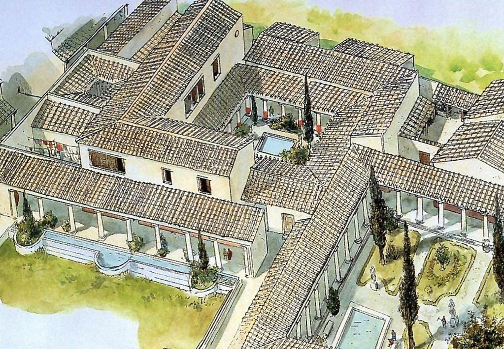 Vaison la romaine reconstitution de la maison flickr - La maison du dressing ...