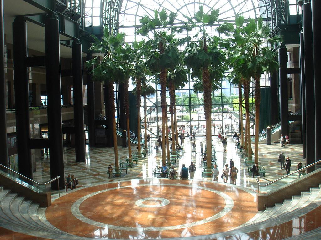 winter garden atrium world financial center new york ny