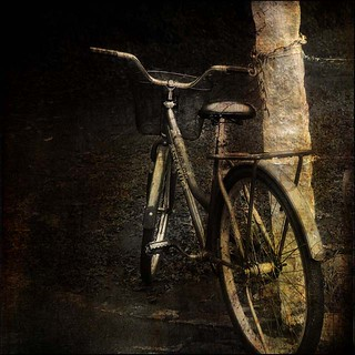 Tereza´s bike... | by @petra