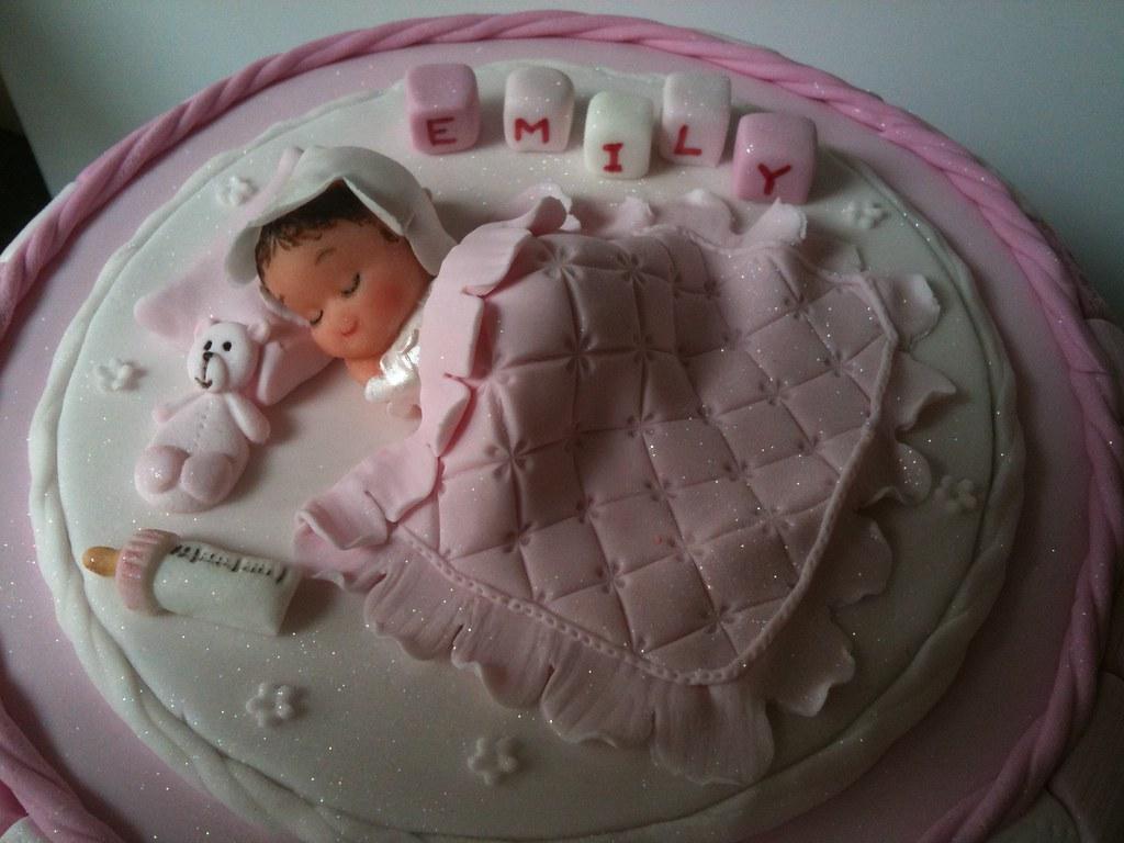 Cake Images For Baby Girl : Baby girl christening Cake Murfie68 Flickr