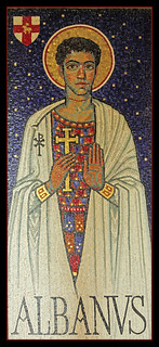 St Alban mosaic | by Lawrence OP