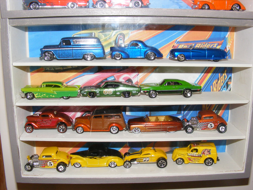 Hot Wheels Display Second Hand Displays From Ikea Wooden Flickr
