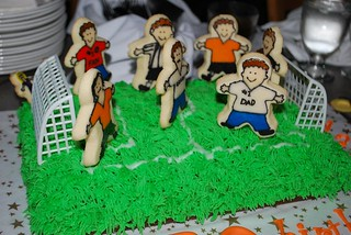 Soccer Cake | by Designable Dreams - Cake Edition :)