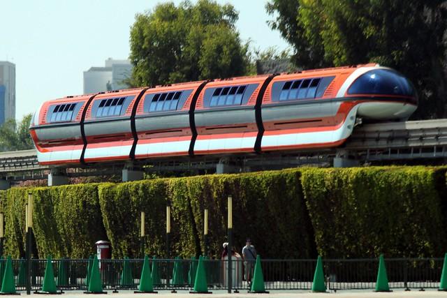 Disneyland Monorail Flickr Photo Sharing