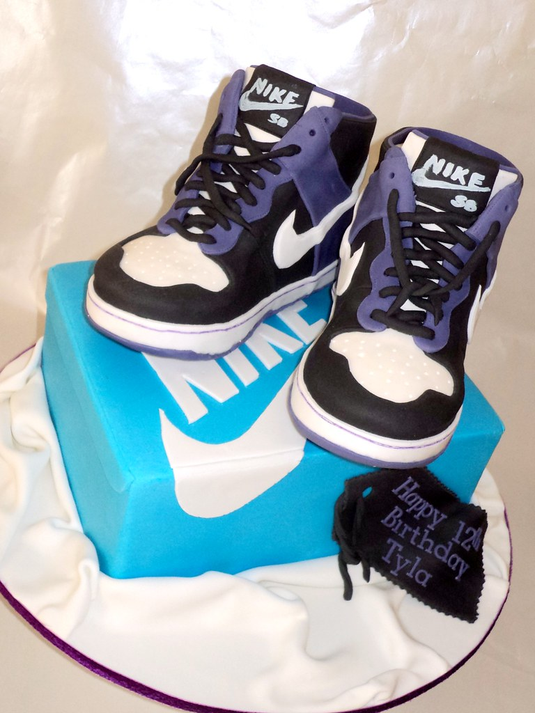 Nike Skateboard Shoes And Box This Cake Was Quite A