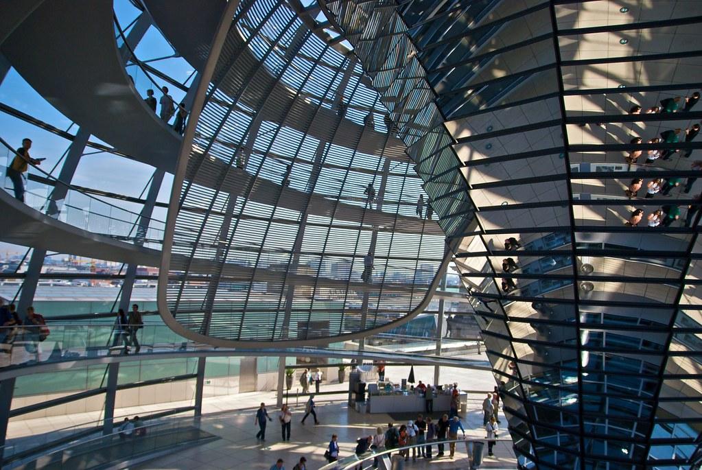 Reichstagskuppel Berlin | Jürgen Stemper // Bloemche | Flickr  Reichstagskuppe...