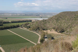 View of University Drive, northeast of campus from hill | by California State University Channel Islands
