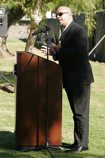 Dr. Sawyer Talking at University Student Union Ground Breaking | by California State University Channel Islands