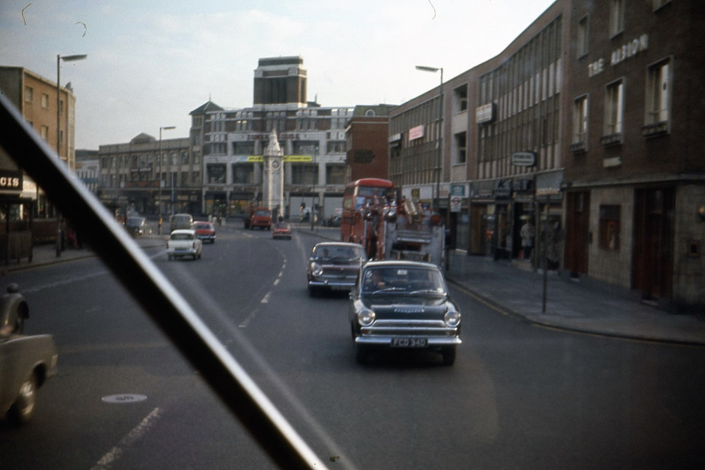 lewisham high street lewisham high street with the clock
