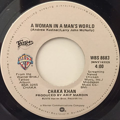 CHAKA KHAN:I'M EVERY WOMAN(LABEL SIDE-B)