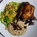 Roast Partridge with Bread Sauce and Game Crumbs